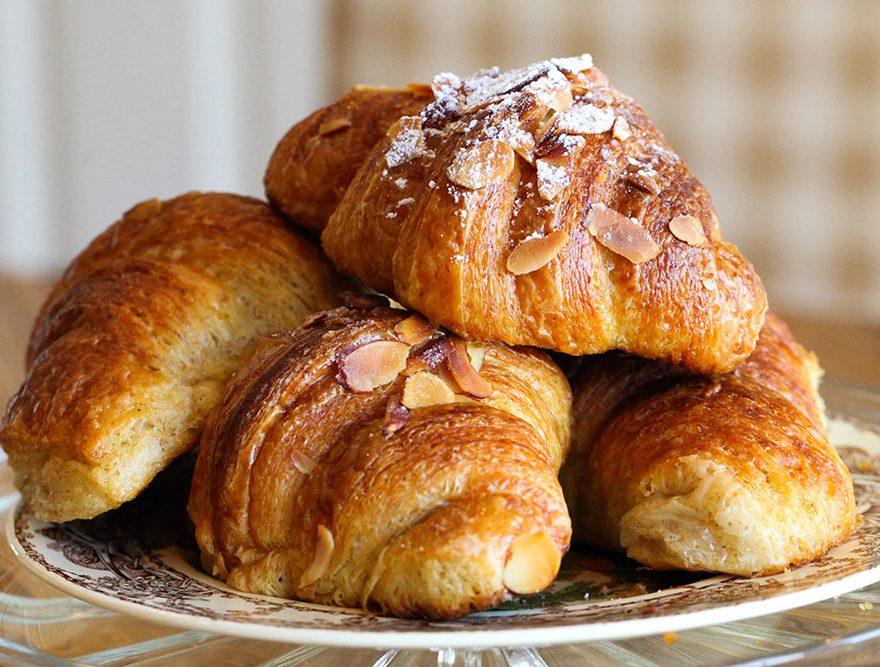 Breakfast Croissants at a Southern VA B&B